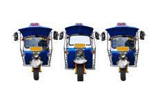 Free 3 Tuk Tuk Tricycle Royalty Free Stock Photos - 15451698