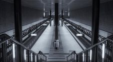 Free Symmetrical Central Station Berlin Stock Image - 15451731