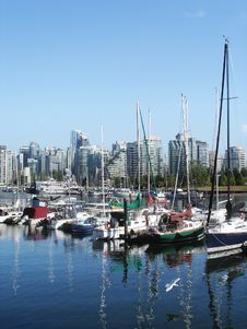 Free Harbor View In Vancouver Royalty Free Stock Images - 15451779
