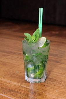 Free Mojito Cocktail Stock Photo - 15452600