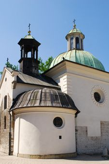 Free St. James Church On Main Square In Cracow Royalty Free Stock Photos - 15452788