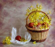 Free Easter Basket Stock Image - 15452851