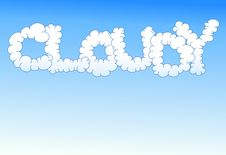 Free Cloudy Background Royalty Free Stock Image - 15453226