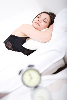 Free Sleeping Woman Stock Images - 15453644