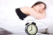 Free Sleeping Woman Stock Image - 15453651