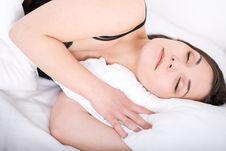Free Sleeping Woman Stock Photos - 15453823