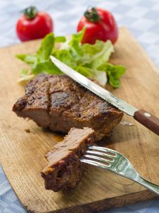 Free Juicy Beef Royalty Free Stock Image - 15454856