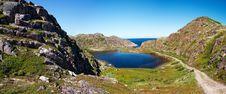 Free Blue Lake In Great Mountain Royalty Free Stock Photos - 15454918