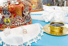 Crowns Before Wedding Stock Photography