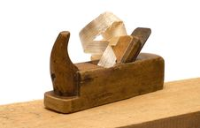 Free Wooden Plane. Royalty Free Stock Images - 15457449