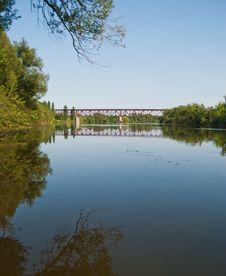 Free Iron Bridge Royalty Free Stock Photos - 15457458
