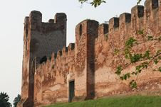 Free Medieval Castle Wall Stock Image - 15457801