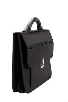 Free Black Briefcase Stock Image - 15457931