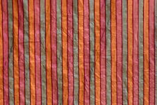 Free Striped Fabric Royalty Free Stock Image - 15457936