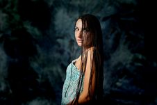 Free Wild Woman Royalty Free Stock Photography - 15458127