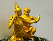 Free Sculpture Art In Thai Temples Stock Photos - 15458223