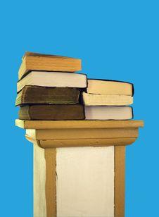 Bibles On Pedestal Stock Images