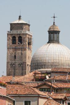 Free Ancient Churches, Venice, Italy Royalty Free Stock Photos - 15458628