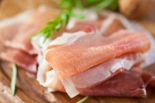 Free Prosciutto Crudo Stock Photography - 15458972