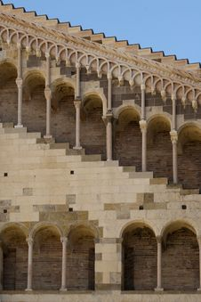 Free Romanesque Architecture In Parma Italy Stock Photography - 15459332
