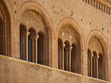 Free Romanesque Architecture In Parma Italy Stock Image - 15459361