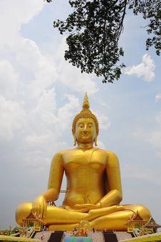 Free Big Buddha Royalty Free Stock Image - 15459866