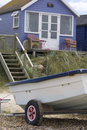 Free Beach Hut And Boat Stock Images - 15467314
