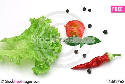 Free Salad Spice Ingredient Stock Photos - 15462763