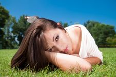 Lovely Beautiful Woman Royalty Free Stock Photos