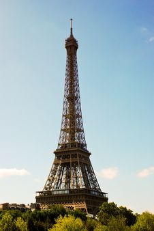 Free Eiffel Tower In Paris Royalty Free Stock Image - 15460286