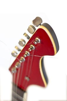 Free Electric Guitar Headstock Royalty Free Stock Images - 15460359