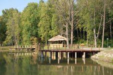 Free Landing Stage On Lake Royalty Free Stock Photos - 15461288