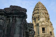 Free Angkor Wat Tower Stock Photo - 15461290