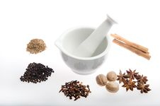 Free Pestle And Mortar Stock Images - 15462104