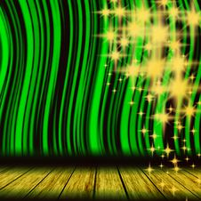 Free Green Theater Curtain Stock Photos - 15462593