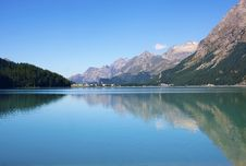 Free Alpine Lake Royalty Free Stock Image - 15462896