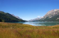 Free Alpine Lake Royalty Free Stock Photography - 15462977