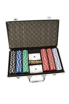 Free Poker Set Royalty Free Stock Photo - 15464155