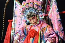 Free Pretty Chinese Opera Actress Stock Images - 15464834