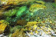 Free The Springs Is Limpid With Crystal Water. Royalty Free Stock Photos - 15465878