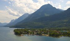 Free Village Centre At Waterton National Park Stock Image - 15466031