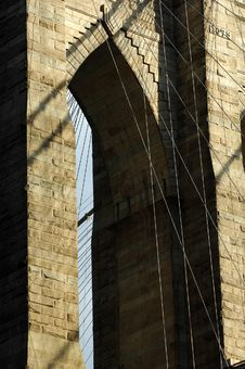 Free Brooklyn Bridge Royalty Free Stock Photography - 15466487