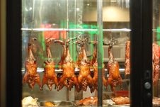 Free Roast Duck In Chinatown Stock Images - 15466494
