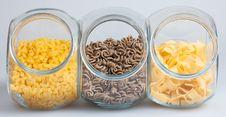 Free Pasta In Glass Stock Photo - 15466750
