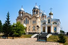 Verhoturie.Man S Piously-Nikolaev Monastery Stock Photos