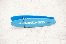 Free Lifeguard Surfboard Stock Photography - 15468142