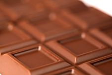 Free Chocolate Bar Close-up Stock Image - 15468171
