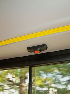 Free Stop The Bus Button Stock Photo - 15468710