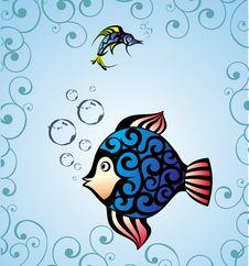 Free Fish Card Royalty Free Stock Photos - 15469058