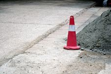 Free Red Safety Cones Stock Photos - 15469063